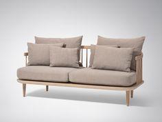 &Tradition FLY Sofa SC2. Height: 70cm x Width: 162cm x Depth: 80cm. £2,599
