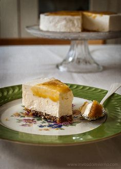 Tarta de queso sin horno, El invitado de invierno
