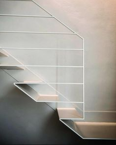 Our goal is to keep old friends, ex-classmates, neighbors and colleagues in touch. Steel Stairs Design, Stair Railing Design, Metal Stairs, Railing Ideas, Staircase Handrail, Interior Staircase, Stairs Architecture, Staircases, Contemporary Stairs