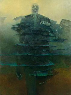 Zdzisław Beksiński. Obrazy. Lata 1995-2005 - AŃ