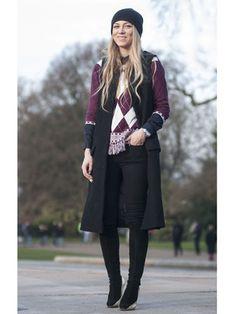 Day 5 Street Style at London Fashion Week