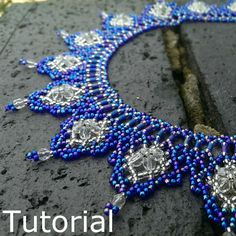 Regal Necklace Beadwork Pattern/Tutorial  Instant by BearlyBeaded, £5.00
