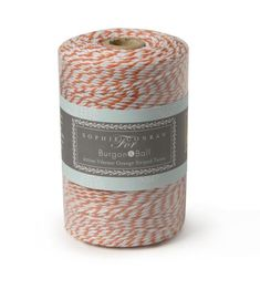 VIBRANT ORANGE Twine: Length - Traditional striped twine ideal for tying up flowers and herbs, wrapping up homemade cakes and gifts, securing jam jar covers in place, present wrapping and much more. Sophie Conran, Jam Jar, Garden Gifts, Garden Styles, Amazing Gardens, Potted Plants, Twine, Vibrant, Tools