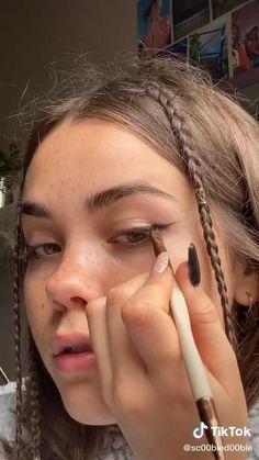 Indie Makeup, Edgy Makeup, Glamour Makeup, Makeup Eye Looks, Cute Makeup, Pretty Makeup, Simple Makeup, Skin Makeup, Natural Makeup