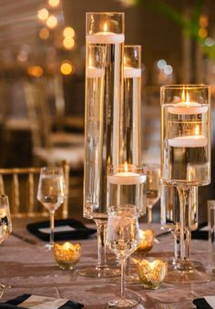 wedding centerpiece idea; photo: Vue Photography