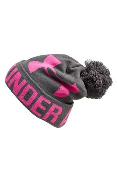 Just Got this,this past weekend! Just in time for Snow In GA!Women's Under Armour Logo Pompom Beanie Under Armour Outfits, Nike Under Armour, Under Armour Logo, Under Armour Shoes, Under Armour Women, Cute Beanies, Clothing Logo, Pom Pom Hat, Sporty Outfits