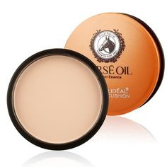 Korea Cosmetics Brand HORSE OIL Foundation Base BB Powder Maquillage Oil-control Moistourizing Face Powder Makeup Palette