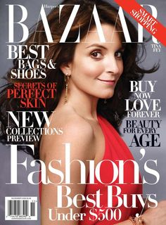 Bazaar November 2009 - Tina Fey