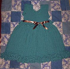 With A Tangled Skein: The Gabi baby dress...