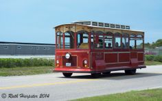 Ding, ding, ding went the trolley. Photo taken in Newport, RI