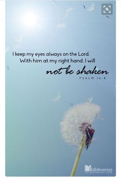 Keep Eyes on Lord