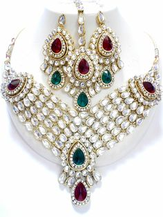 Kundan Necklace, for more design and wholesale price, visit us at www.impexfashions.com