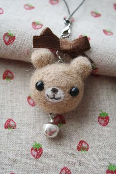 needle felting | needle felting bear by li sa artisan crafts dolls plushies