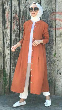 Ropa Tutorial and Ideas Hijab Fashion Summer, Modest Fashion Hijab, Modern Hijab Fashion, Muslim Women Fashion, Pakistani Fashion Casual, Modesty Fashion, Hijab Style Dress, Hijab Outfit, Hijab Trends