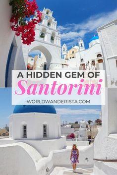 Megalochori, hidden gem of Santorini - World Wanderista Santorini Travel, Best Travel Guides, Where To Go, The Locals, The Good Place, Taj Mahal, Places To Go, Gems, World