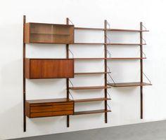 new i.s.a. bookshelf