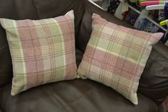 pamela's cushions to match her pelmet :)