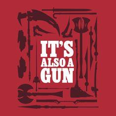 RWBY Also A Gun Shirt