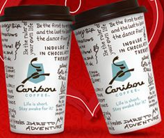 caribou coffee valentines day special