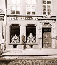 Danzig, Prussia, Beautiful Buildings, Cities, Black And White, History, Photos, Photography, Vintage