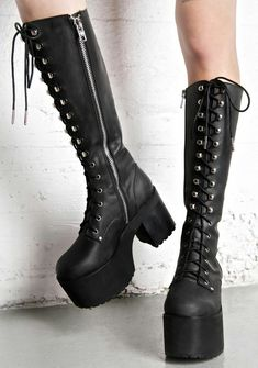 Current Mood Your Highness Leather Boots are gunna carry ya straight to the  throne a6efb2a40275e