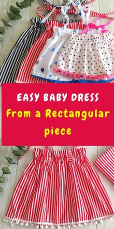 Baby Boy Dress, Baby Girl Dress Patterns, Baby Clothes Patterns, Baby Dresses, Newborn Baby Girl Dresses, Girls Dresses, Free Baby Patterns, Easy Sewing Patterns, Fabric Patterns