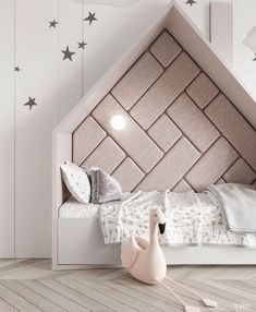 Modern design with midwestern ease. Contemporary architecture and modern interior design for your Michigan residential and commercial projects. Girl Room, Girls Bedroom, Bedroom Decor, Bedroom Ideas, Kids Interior, Interior Design, Bed Goals, Baby Room Furniture, Grey Furniture