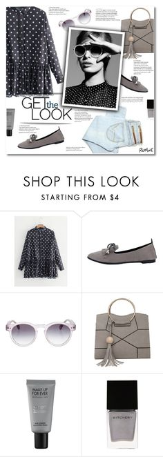 """""""Romwe 2"""" by smajlovicelvira ❤ liked on Polyvore featuring Circle Of Trust, Illesteva, MAKE UP FOR EVER and Witchery"""