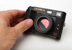 Yashica EZ F521 (little digital Holga)
