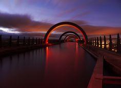 """""""Artery"""" by KENNY BARKER, The Falkirk Wheel, Scotland."""