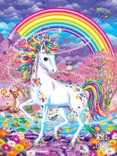 Rainbow Mischief Art Print by Lisa Frank at Art.com