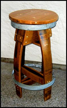 Barrel Concepts Wine Barrel Furniture Chairs Wine Barrel Tables $350