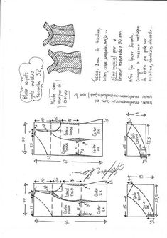 Amazing Sewing Patterns Clone Your Clothes Ideas. Enchanting Sewing Patterns Clone Your Clothes Ideas. Diy Clothes And Shoes, Make Your Own Clothes, T Shirt Sewing Pattern, Pattern Drafting, Costura Fashion, Sewing Blouses, Baby Dress Patterns, T Shirt Diy, Fashion Sewing