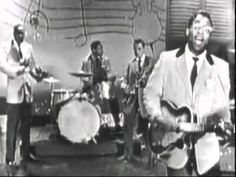 Bo Diddley made his national television debut on The Ed Sullivan Show. Born Ellas Otha Bates in McComb, Mississippi, in the man better known as Bo Diddley introduced himself and his namesake beat to the world. Rhythm And Blues, Jazz Blues, Rock N Roll Music, Rock And Roll, Chess Records, Willie Dixon, The Ed Sullivan Show, Jazz Artists, Muddy Waters