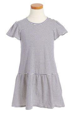 Tucker + Tate Stripe Knit Dress (Toddler Girls, Little Girls & Big Girls) available at #Nordstrom
