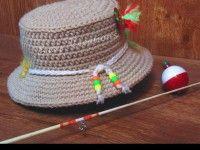 Bucket Fishing Hat PDF Crochet Pattern by Easy Creations