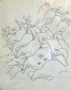 Walter Inglis Anderson Plants in a row
