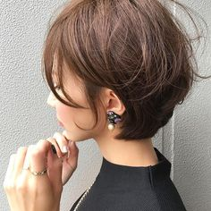 32 Layered Bob Hairstyles : Add These Hot Layers to Your Haircut Now - Style My Hairs Short Hair With Layers, Short Hair Cuts, Best Short Hair, Messy Pixie Cuts, Pretty Short Hair, Hairstyles Haircuts, Pretty Hairstyles, Layered Bob Hairstyles, Medium Hair Styles