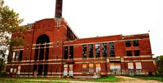 abandoned st paul island power station | Island Station thing of beauty