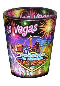 Firework Shot Glass | Vegas Themed | Gamblers General Store