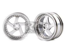 Car Parts :: Tire / Wheel / Disk :: MST 102043FS Flat silver TMB wheel (+3) (4) -