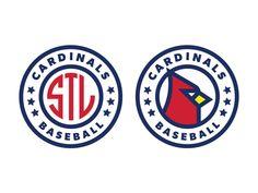 St. Louis Cardinals Baseball by Patrick Moriarty