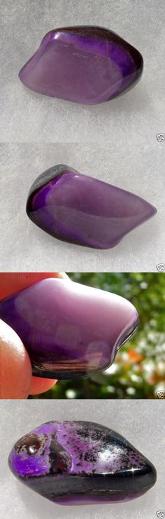 Sugilite 69181: Sugilite Polished Nugget W Gel And Maganese Vein 9.6 Grams Or 48 Carats S Africa -> BUY IT NOW ONLY: $96 on eBay!