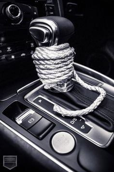 50 Shades - Gear shift and rope