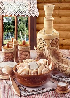 . #Russian Cuisine: pelmeni.  If you need a recipe - ask)))