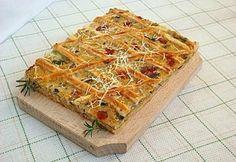 Vegyes sós pite Waffles, Pie, Vegetarian, Dishes, Breakfast, Food, Torte, Morning Coffee, Cake