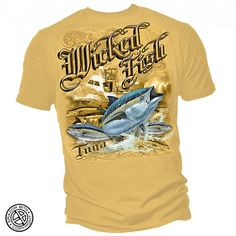 Mens Tuna Fishing Tee Shirt