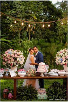 Casamento rústico no campo: Gabriela + Filipe