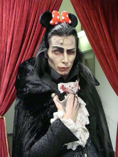 Jan Ammann as Graf von Krolock (who...I can't stop laughing...)