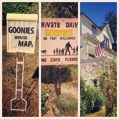 The Goonie's House in Astoria, OR